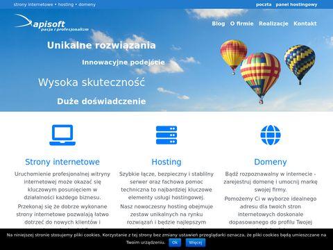 Apisoft.pl strony www