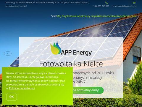 APP Energy Kielce fotowoltaika