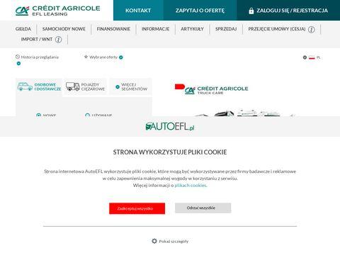 Autoefl.pl leasing samochodów dla firm