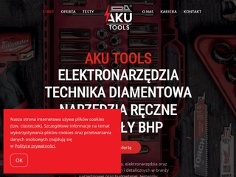 Aku Tools elektronarzędzia narzędzia ręczne