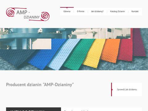 Amp-dzianiny.pl producent dzianin