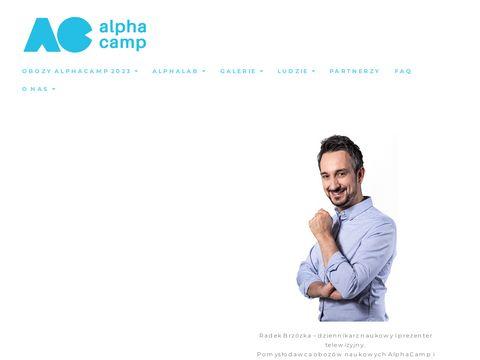 Alphacamp.pl obozy naukowe dla dzieci