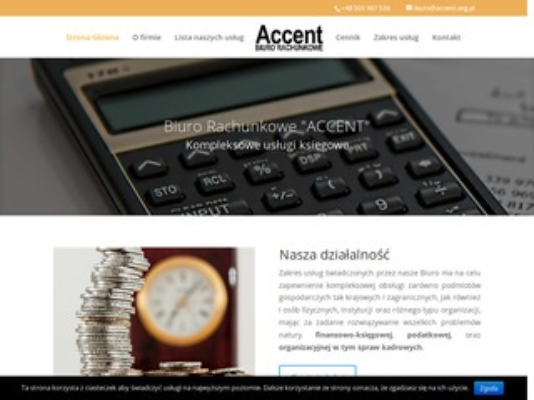 Accent.org.pl księgowość Rzeszów