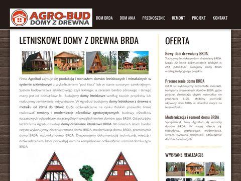 Agrobud.info dom drewniany Brda