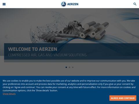 Aerzen.com dmuchawy turbo, agregaty