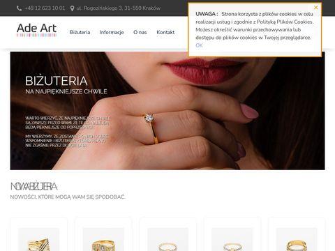 Adeart.pl pierścionki z topazem
