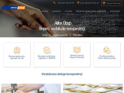 Adrex-group.pl obsługa korespondencji masowej