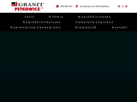 Granitpetkowicz.pl rzeźba nagrobna