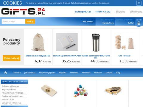 Gifts24.pl upominki reklamowe