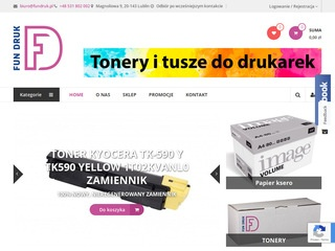 FunDruk.pl tonery Lublin sklep internetowy