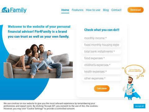 Fin4family.com program do oszczędzania