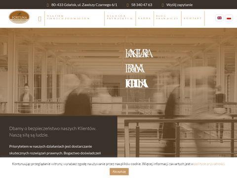 Kancelaria radcy prawnego Gdańsk - fortuna-krp.pl