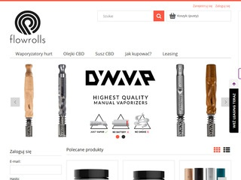 Flowrolls legalne produkty CBD