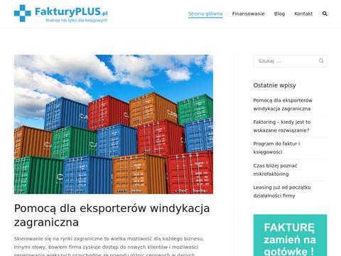 Fakturyplus.pl - program do wystawiania