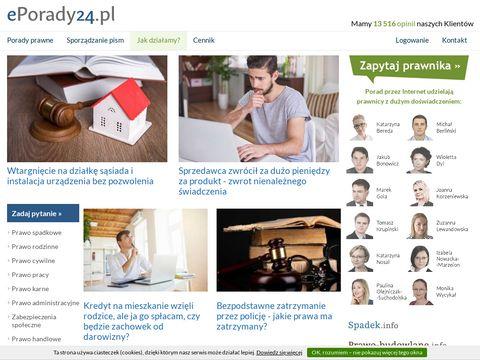 Eporady24.pl prawnicze