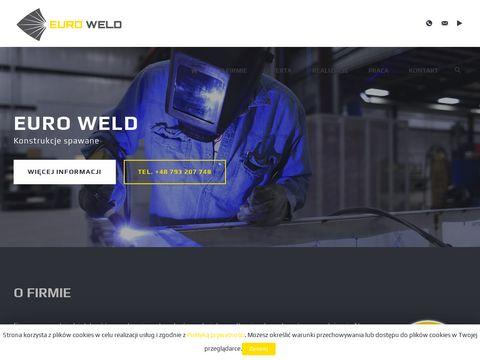 EURO WELD konstrukcje spawane