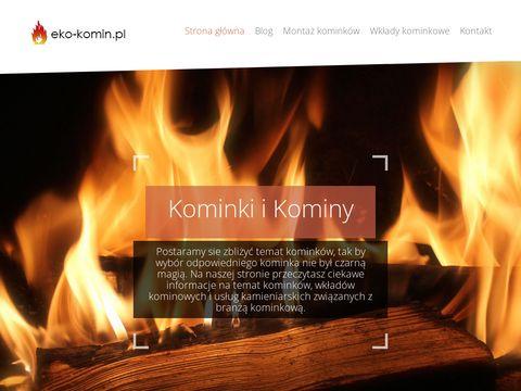 Eko-komin.pl - serwis o kominkach i kominach