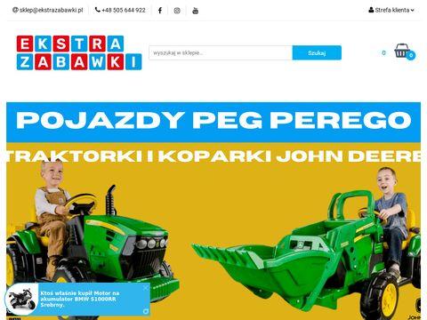 Ekstrazabawki.pl samochody na akumulator