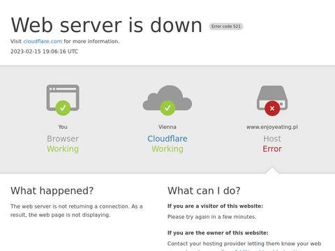 Enjoyeating.pl dieta z dowozem do domu Kraków