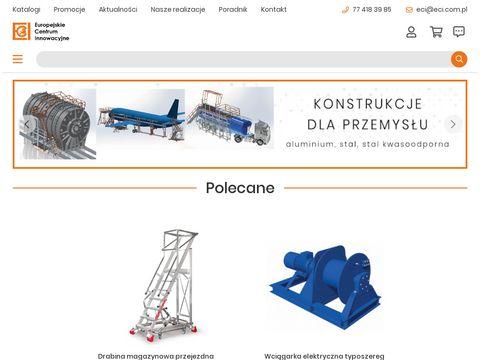 Eci.com.pl wózki transportowe i magazynowe