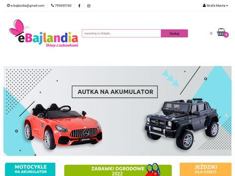 Ebajlandia.pl sklep z zabawkami dla dzieci