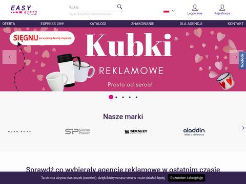 Tanie gadżety reklamowe z logo - easygifts.com.pl