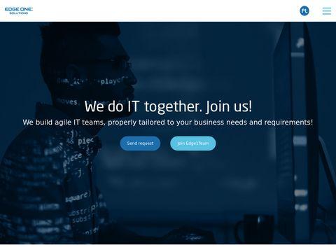 Edge1s.com rozwój oprogramowania