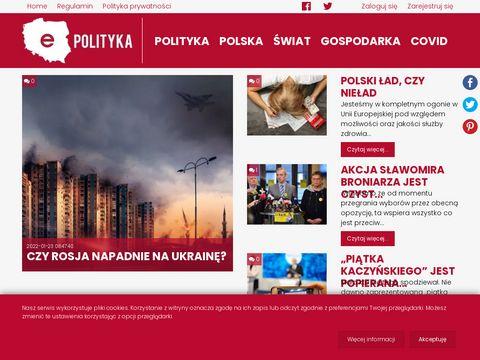 E-polityka.eu wiadomości z Polski i ze świata