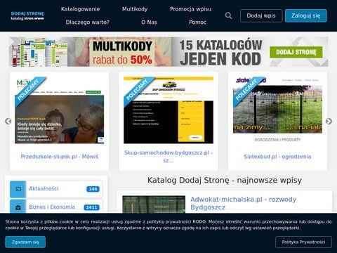 Dodaj-strone.com.pl - katalog stron