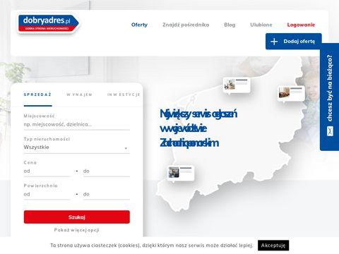 Dobryadres.pl domy na sprzedaż