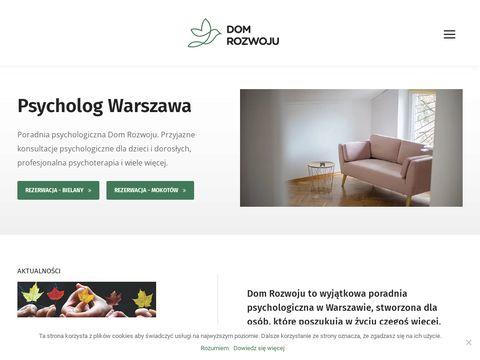 Dom-rozwoju.pl psycholog Warszawa