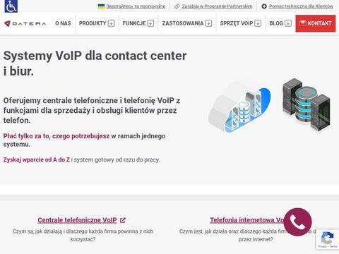 Datera.pl infolinia dla firm