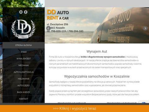 Ddauto.pl wypożyczalnia