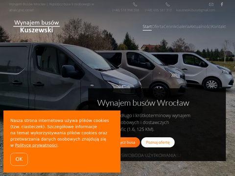 Kuszewski-busy.pl wynajem we Wrocławiu