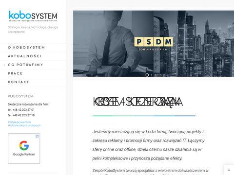 Kobosystem.pl agencja interaktywna