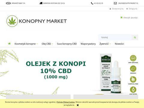 Konopnymarket.pl olej CBD i produkty