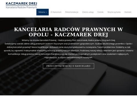 Kancelaria-kd.pl Wojciech Drej