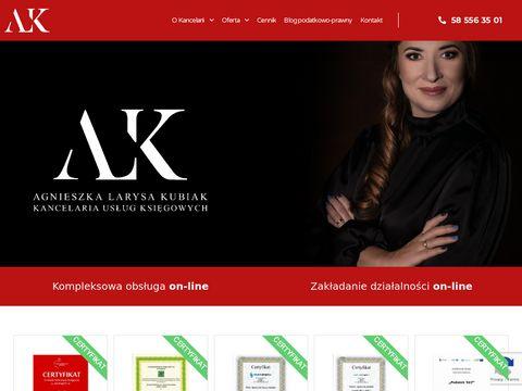 Kancelaria-kubiak.pl księgowość w spółce Gdańsk