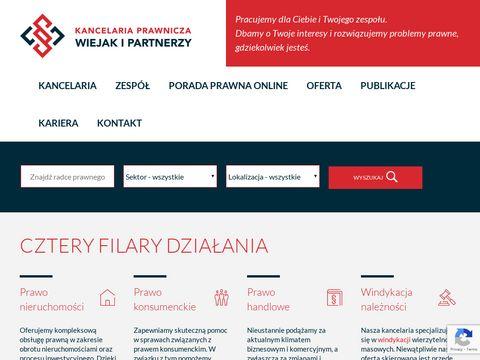 Kancelariawiejak.pl prawnik Warszawa