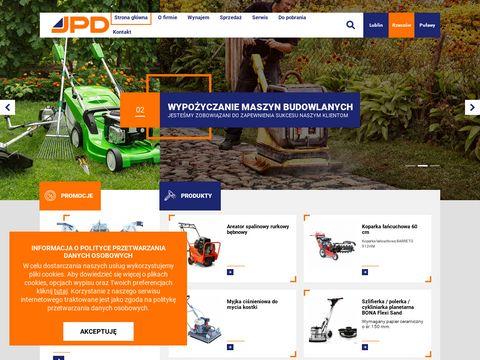 Jpd.com.pl wypożyczalnia maszyn budowlanych