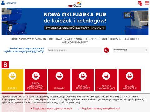 Jkbprint.pl drukarnia offsetowa