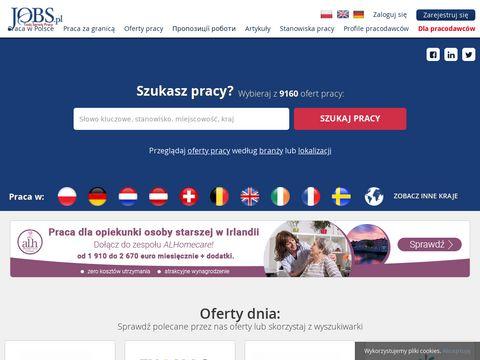 Jobs.pl dobrze płatna praca za granicą
