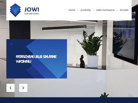 Jowi-szklarstwo.pl gabloty szklane Poznań