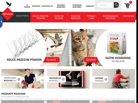 Jakcopic.pl kolce przeciw ptakom
