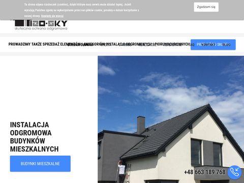 Izosky.pl instalacje odgromowe