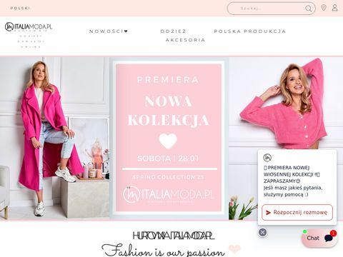 Italiamoda.pl hurtownia odzieży