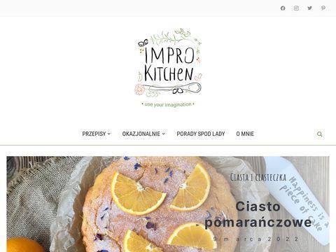 Improkitchen.pl przepisy na ciasta