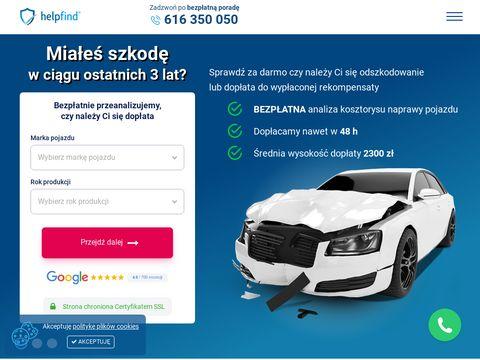 Helpfind.pl centrum odszkodowań