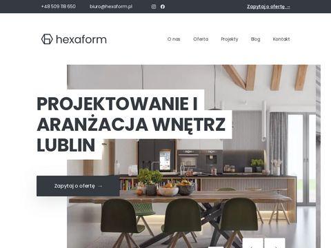 Hexaform.pl architekt wnetrz