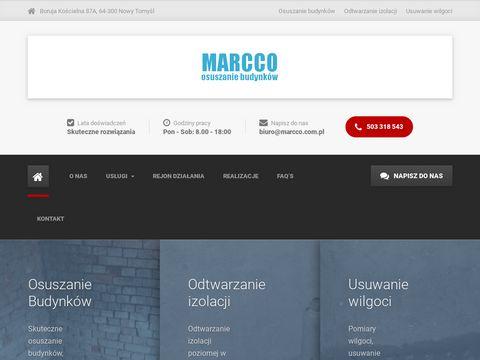 Osuszamybudynki.com.pl podcinanie ścian